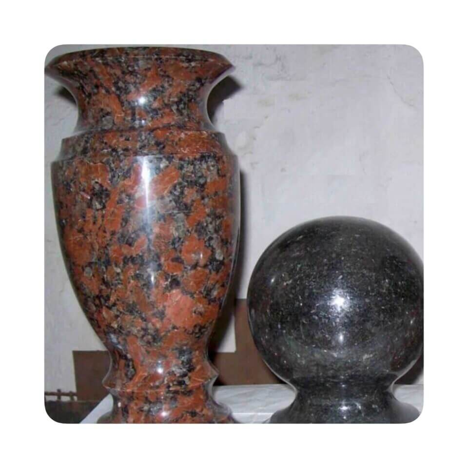 гранитные шары э гранитные вазы,